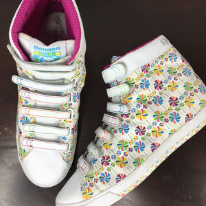 Reebok Roland Berry Lollipop High Top Sneakers 10